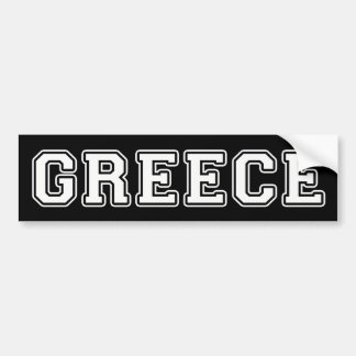 Greece Bumper Sticker