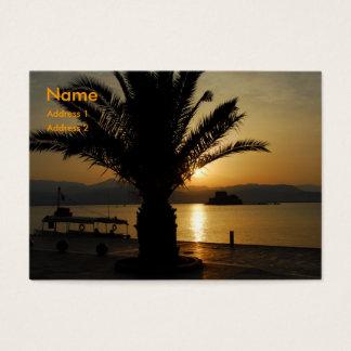 Greece Business Card