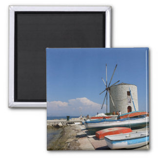 Greece, Corfu, Old Windmill, Magnet