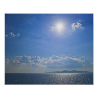 Greece, Cyclades Islands, Aegean Sea Poster