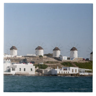 Greece, Cyclades Islands, Mykonos, Mykonos Town, Tile