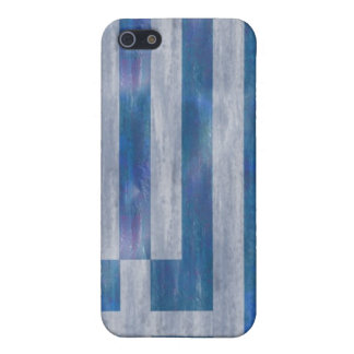 Greece distressed Greek flag iPhone 5/5S Case