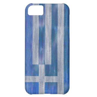 Greece distressed Greek flag iPhone 5C Cases