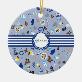 Greece: famous items of the country ceramic ornament