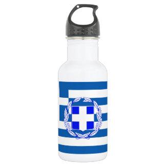 Greece flag 532 ml water bottle