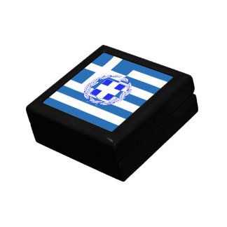 Greece flag gift box