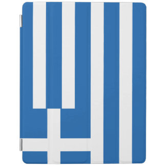 Greece Flag iPad Cover