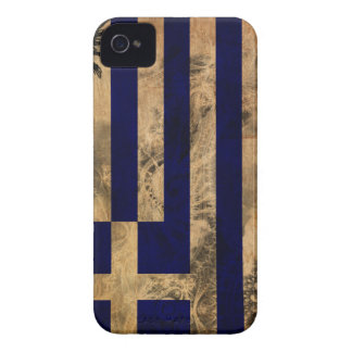 Greece Flag iPhone 4 Case-Mate Cases
