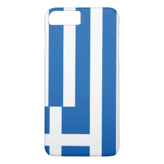 Greece Flag iPhone 8 Plus/7 Plus Case