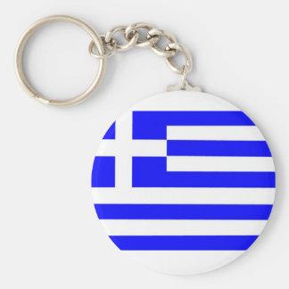 Greece Flag Keychain
