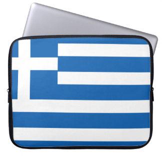Greece Flag Laptop Sleeve