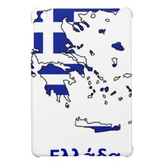 GREECE FLAG MAP iPad MINI CASES