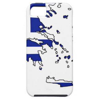 GREECE FLAG MAP iPhone 5 CASE