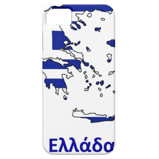 GREECE FLAG MAP iPhone 5 CASES