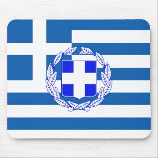 Greece flag mouse pad