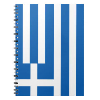 Greece Flag Notebooks