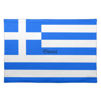 Greece: Flag of Greece Placemat