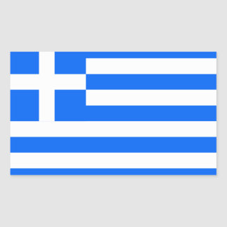 Greece: Flag of Greece Sticker