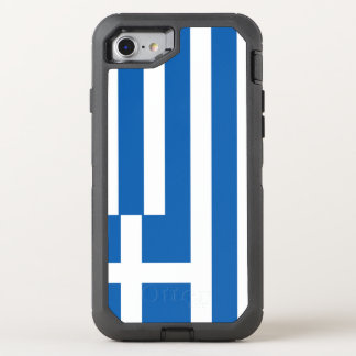 Greece Flag OtterBox Defender iPhone 8/7 Case