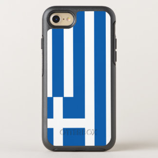 Greece Flag OtterBox Symmetry iPhone 8/7 Case