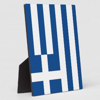 Greece Flag Plaque