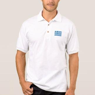 Greece Flag Polo Shirt