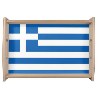 Greece Flag Serving Tray