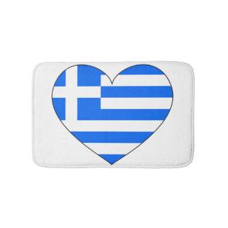 Greece Flag Simple Bathroom Mat