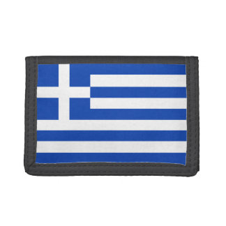 Greece Flag Wallet