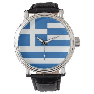 Greece Flag Watch