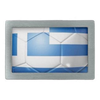 GREECE FOOTBALL FLAG BELT BUCKLES