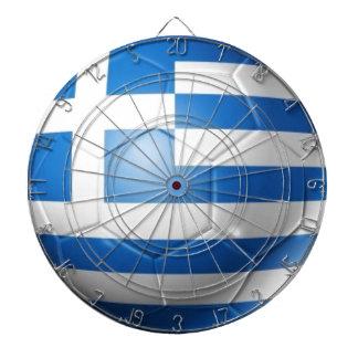 GREECE FOOTBALL FLAG DARTBOARD