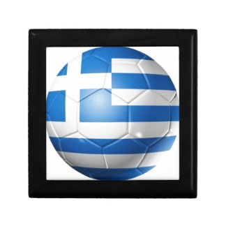 GREECE FOOTBALL FLAG GIFT BOX