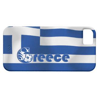 Greece Football Flag iPhone 5 Case