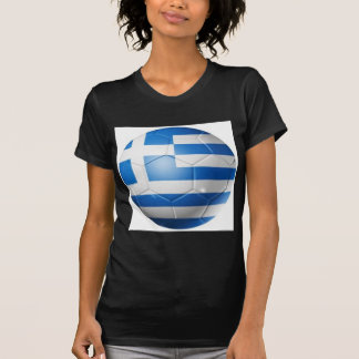 GREECE FOOTBALL FLAG T-Shirt