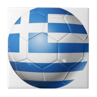 GREECE FOOTBALL FLAG TILE