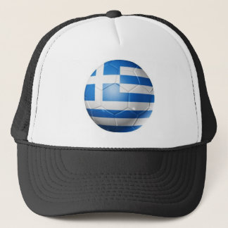 GREECE FOOTBALL FLAG TRUCKER HAT