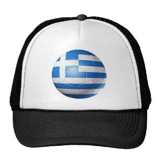 GREECE FOOTBALL FLAG TRUCKER HAT