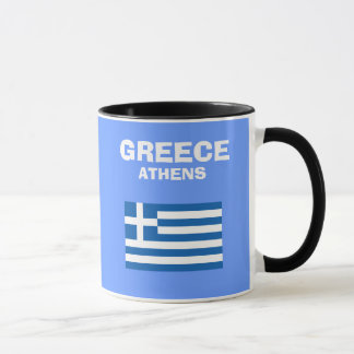 Greece* GR Country Code Mug