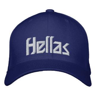Greece - Hellas Embroidered Baseball Caps