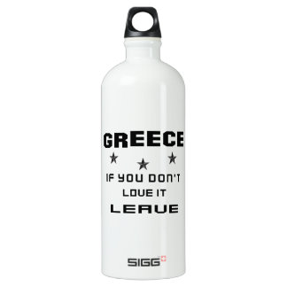 Greece If you don't love it, Leave
