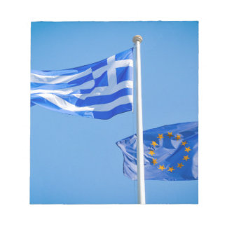 Greece in the European Union Notepad