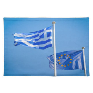Greece in the European Union Placemat