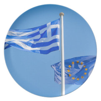 Greece in the European Union Plate