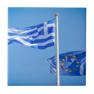 Greece in the European Union Tile