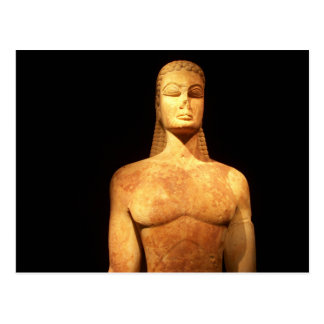 Greece Kouros of the Sacred Gate postcard