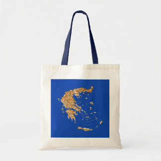 Greece Map Bag