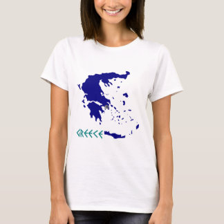 greece map.jpg T-Shirt