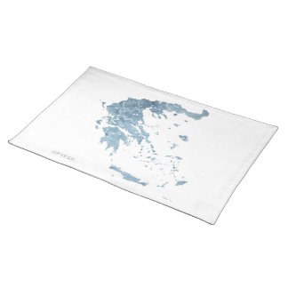 Greece Mediterranean Blue Placemat