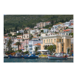 GREECE, Northeastern Aegean Islands, SAMOS, Photo Print